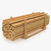 3D модель для хранения пиломатериалов 3d model