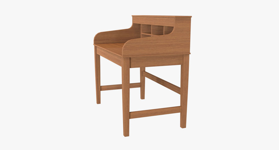Study Table royalty-free 3d model - Preview no. 3