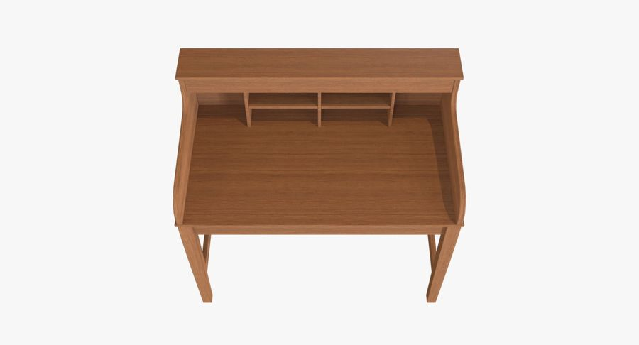 Study Table royalty-free 3d model - Preview no. 4