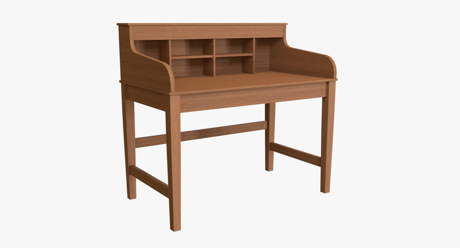 Study Table royalty-free 3d model - Preview no. 2