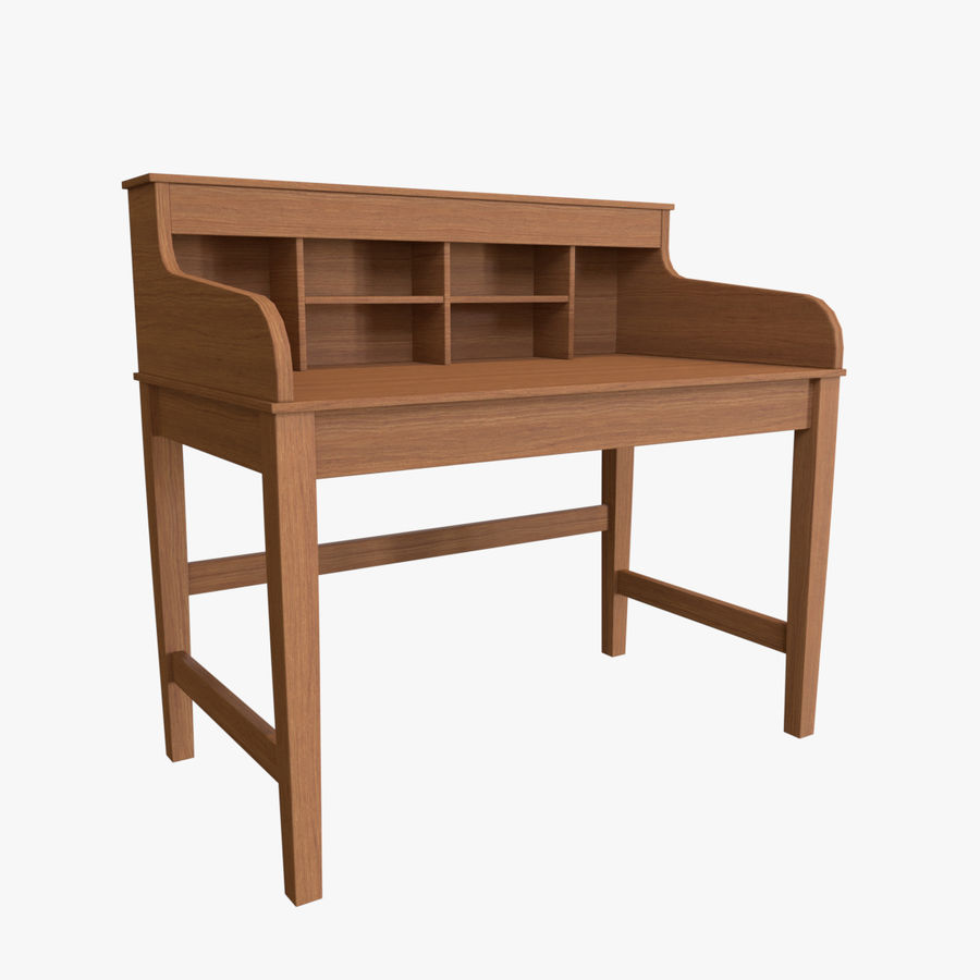 Study Table royalty-free 3d model - Preview no. 1