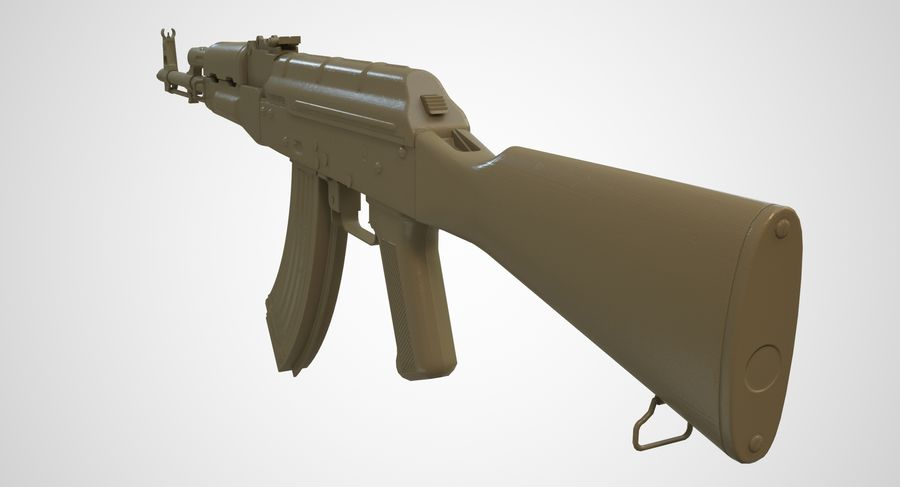 AKM AK-47 royalty-free 3d model - Preview no. 47