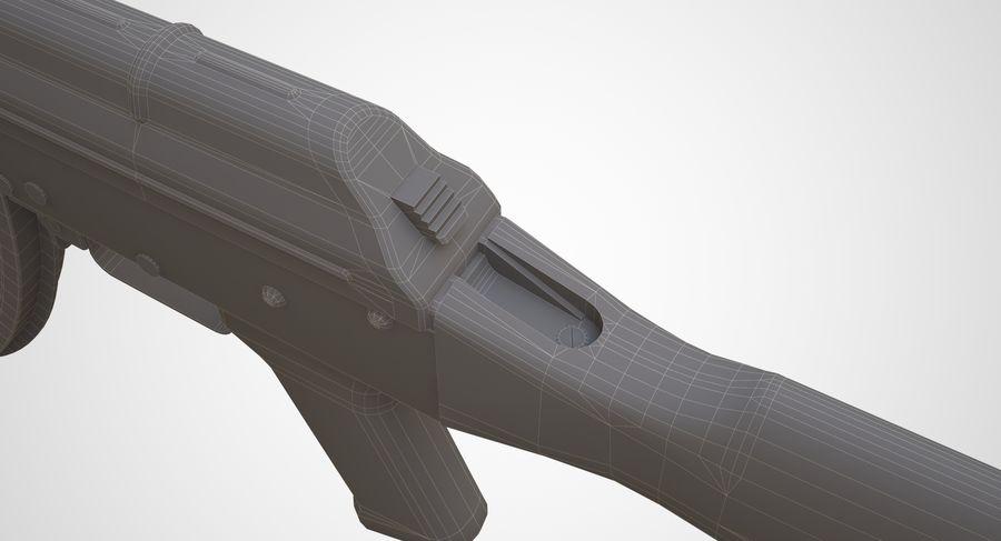 AKM AK-47 royalty-free 3d model - Preview no. 30