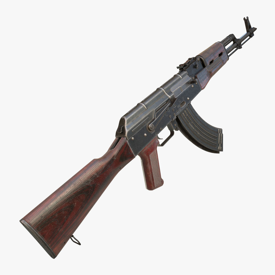 AKM AK-47 royalty-free 3d model - Preview no. 1