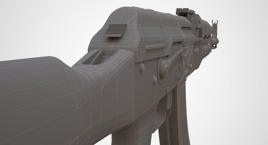 AKM AK-47 royalty-free 3d model - Preview no. 32