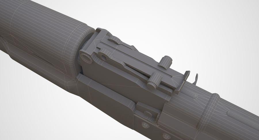 AKM AK-47 royalty-free 3d model - Preview no. 29