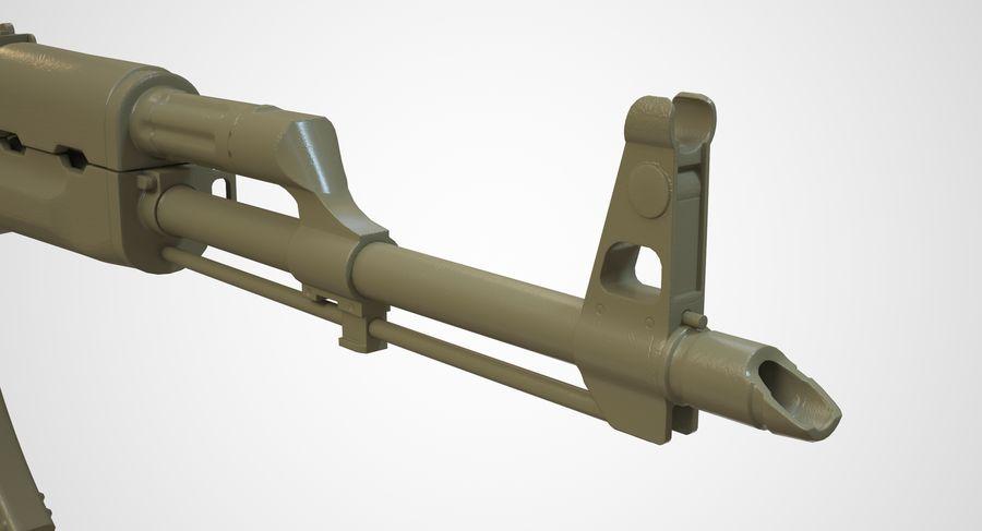AKM AK-47 royalty-free 3d model - Preview no. 39