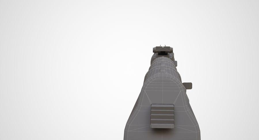 AKM AK-47 royalty-free 3d model - Preview no. 33