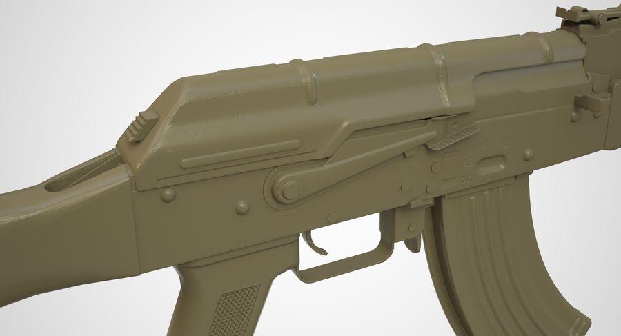 AKM AK-47 royalty-free 3d model - Preview no. 50