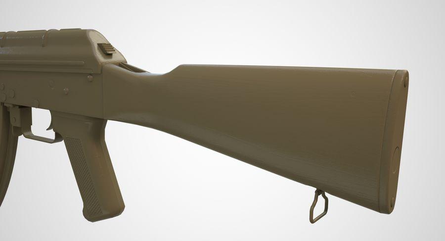 AKM AK-47 royalty-free 3d model - Preview no. 42