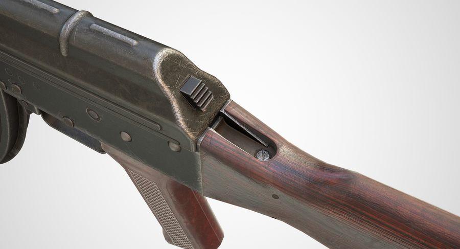 AKM AK-47 royalty-free 3d model - Preview no. 14