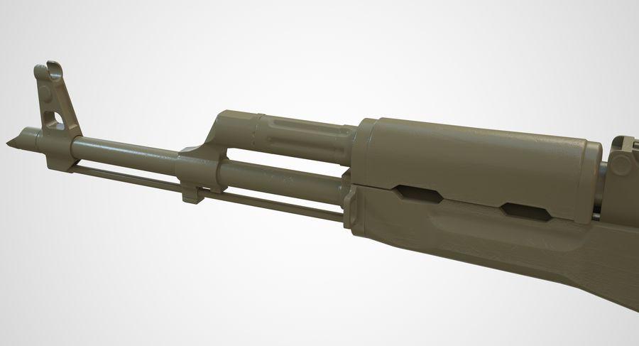 AKM AK-47 royalty-free 3d model - Preview no. 44