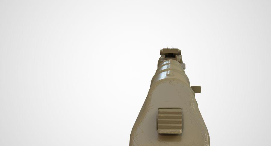 AKM AK-47 royalty-free 3d model - Preview no. 49