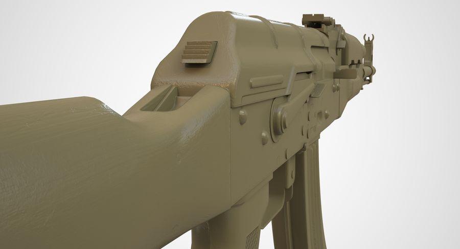 AKM AK-47 royalty-free 3d model - Preview no. 48