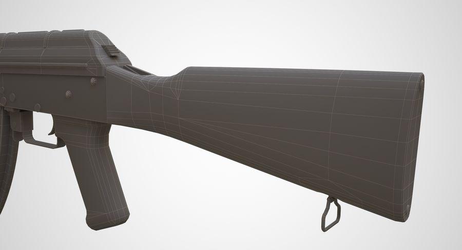 AKM AK-47 royalty-free 3d model - Preview no. 26