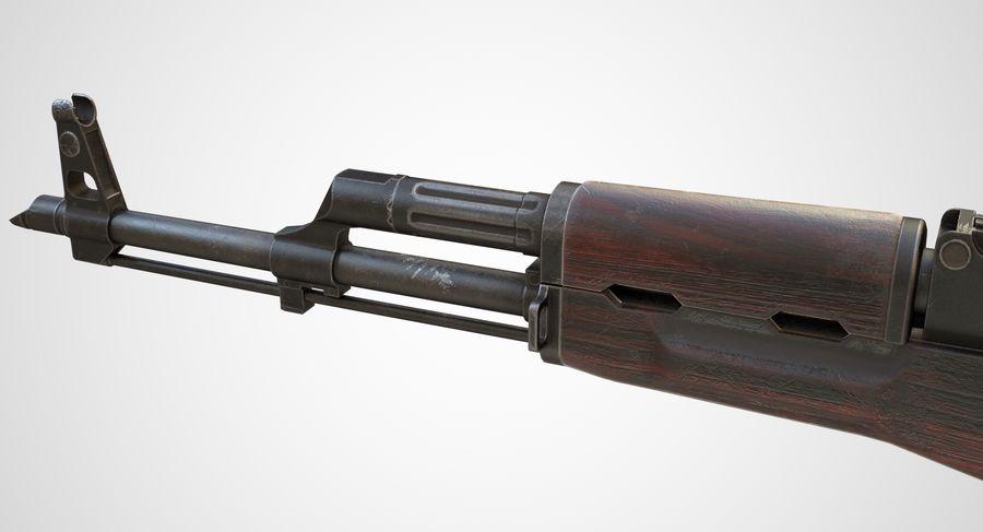 AKM AK-47 royalty-free 3d model - Preview no. 12