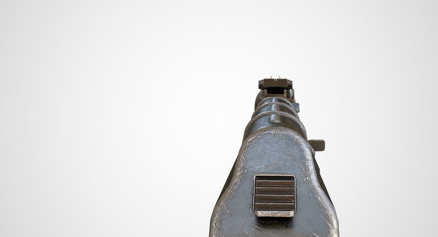 AKM AK-47 royalty-free 3d model - Preview no. 17