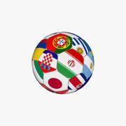 Soccer Ball 2018 3d model