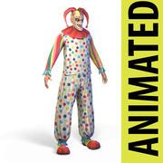 小丑 3d model