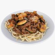 Almoço 04 Espaguete 3d model