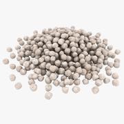 粒状肥料 3d model
