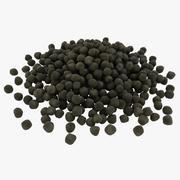 黒肥料 3d model