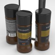 Davidoff Fine Aroma Cafe Coffe Jar 100g 3d model