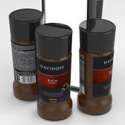 Davidoff Rich Aroma Cafe Coffe Jar 100g 3d model