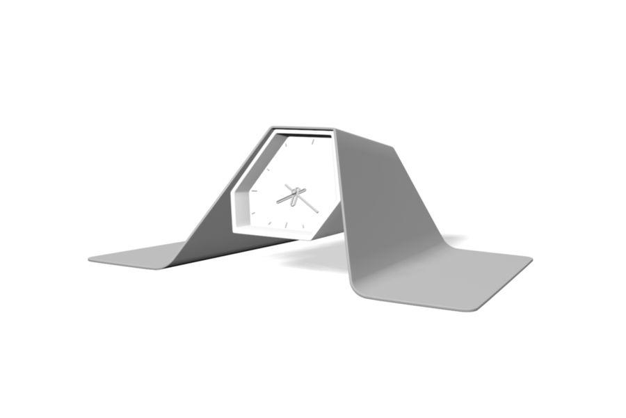 Reloj de mesa royalty-free modelo 3d - Preview no. 3