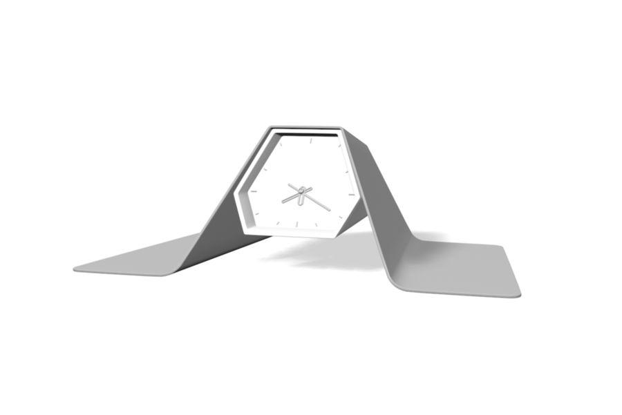 Reloj de mesa royalty-free modelo 3d - Preview no. 4