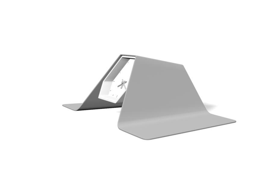Reloj de mesa royalty-free modelo 3d - Preview no. 8