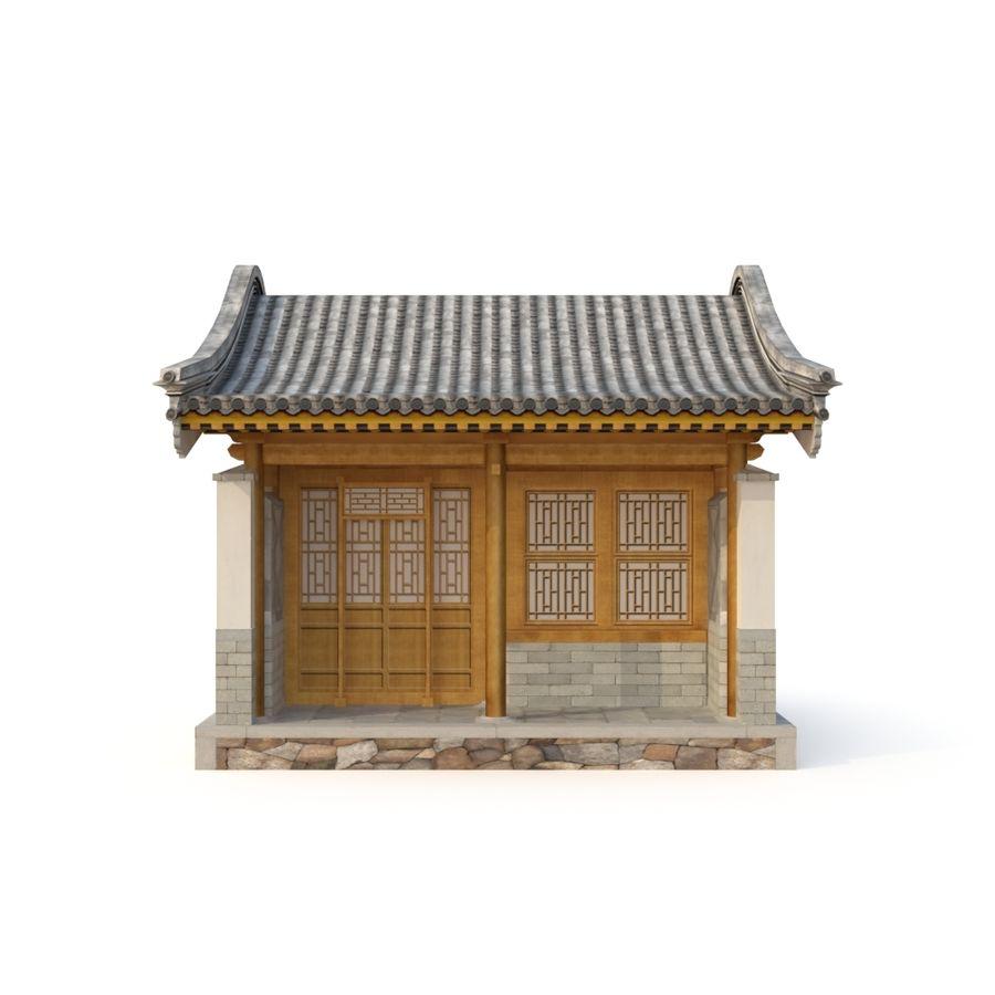 Dystrybucja starożytnej chińskiej architektury room_01 royalty-free 3d model - Preview no. 7