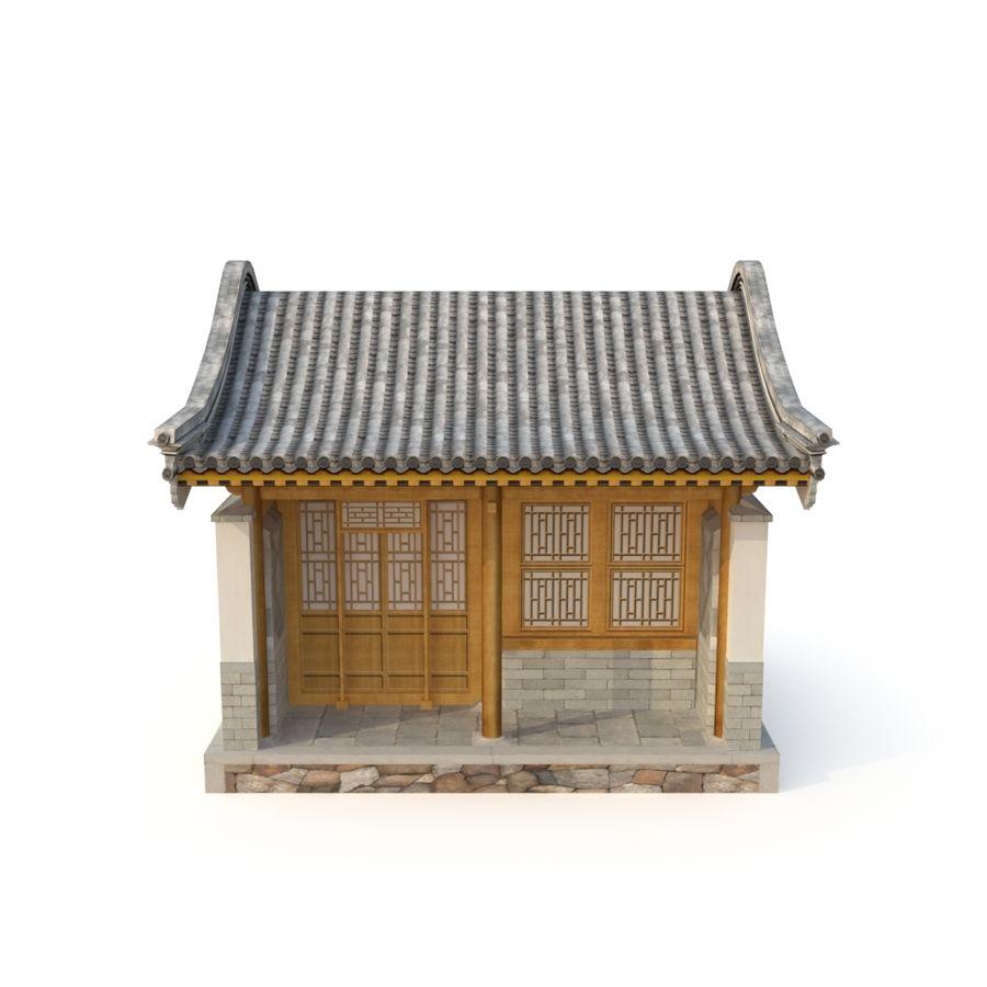 Dystrybucja starożytnej chińskiej architektury room_01 royalty-free 3d model - Preview no. 6