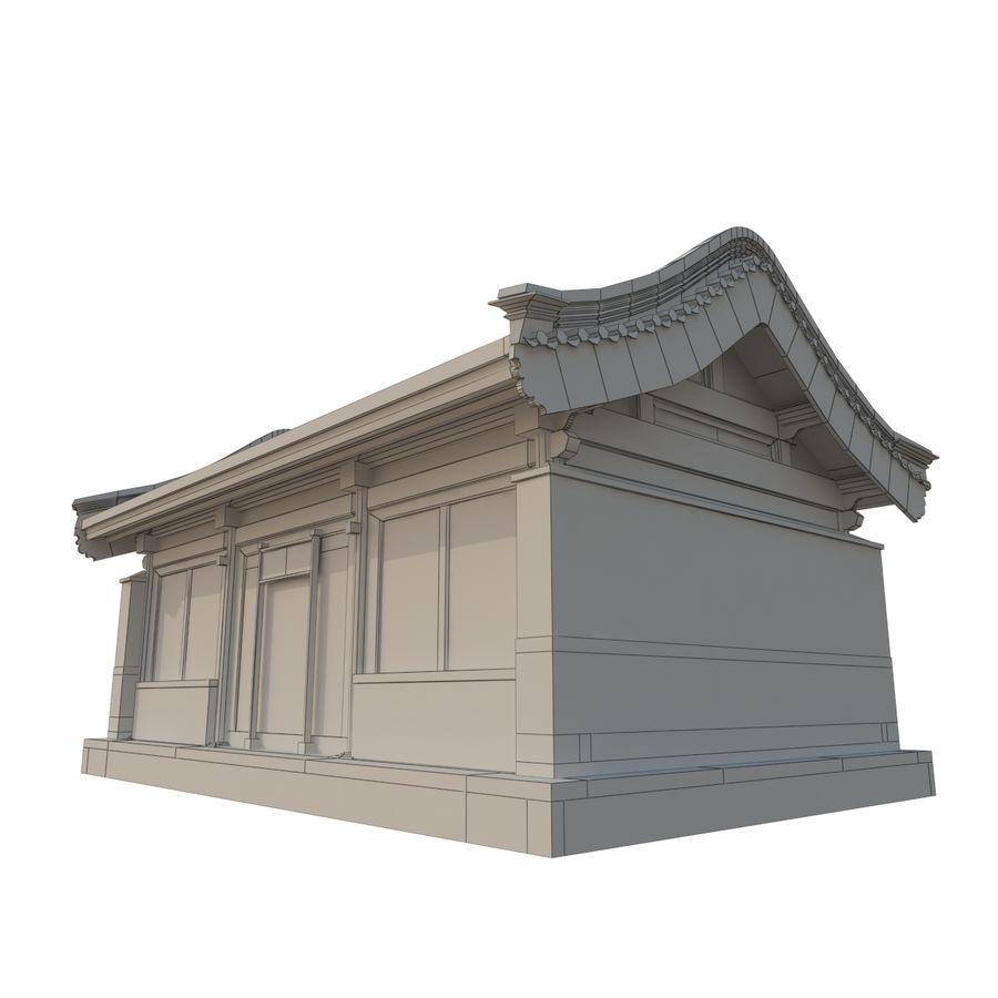 Pokój dystrybucji starożytnej chińskiej architektury 02 royalty-free 3d model - Preview no. 9