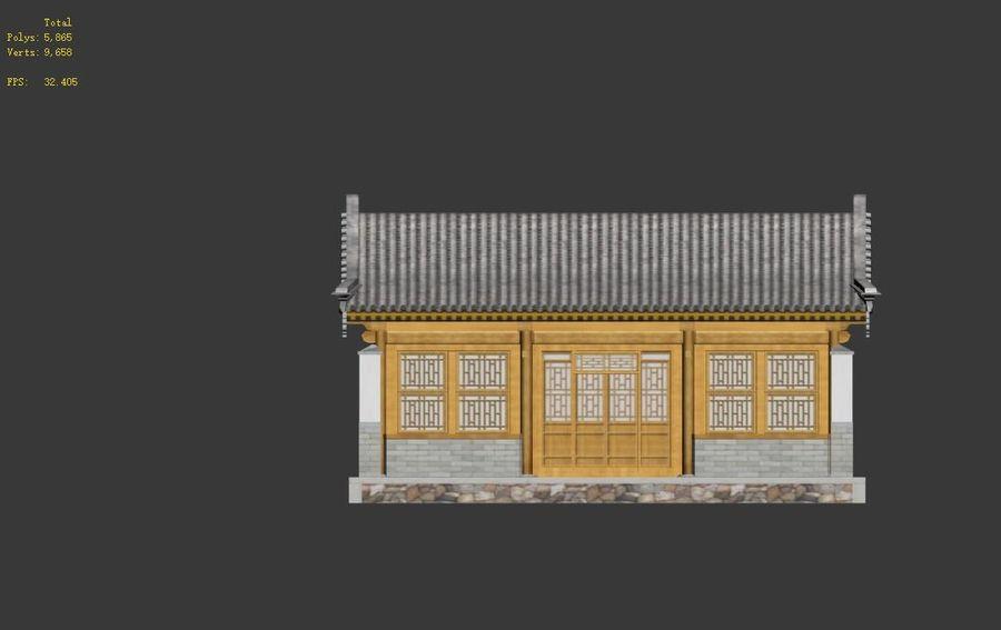 Pokój dystrybucji starożytnej chińskiej architektury 02 royalty-free 3d model - Preview no. 11