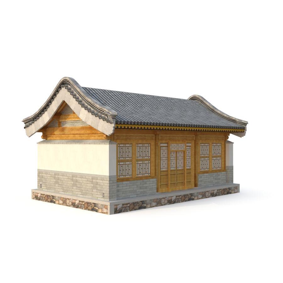Pokój dystrybucji starożytnej chińskiej architektury 02 royalty-free 3d model - Preview no. 7