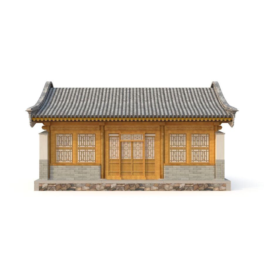 Pokój dystrybucji starożytnej chińskiej architektury 02 royalty-free 3d model - Preview no. 5