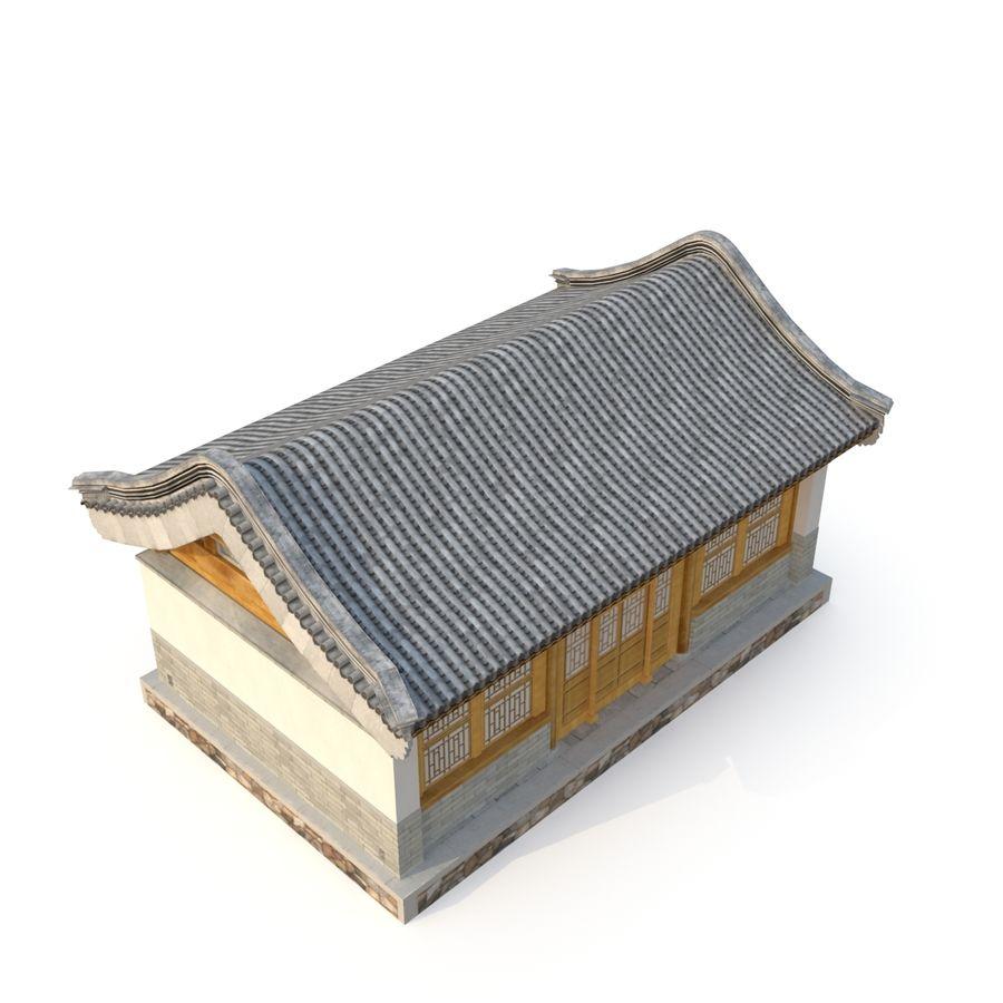 Pokój dystrybucji starożytnej chińskiej architektury 02 royalty-free 3d model - Preview no. 3