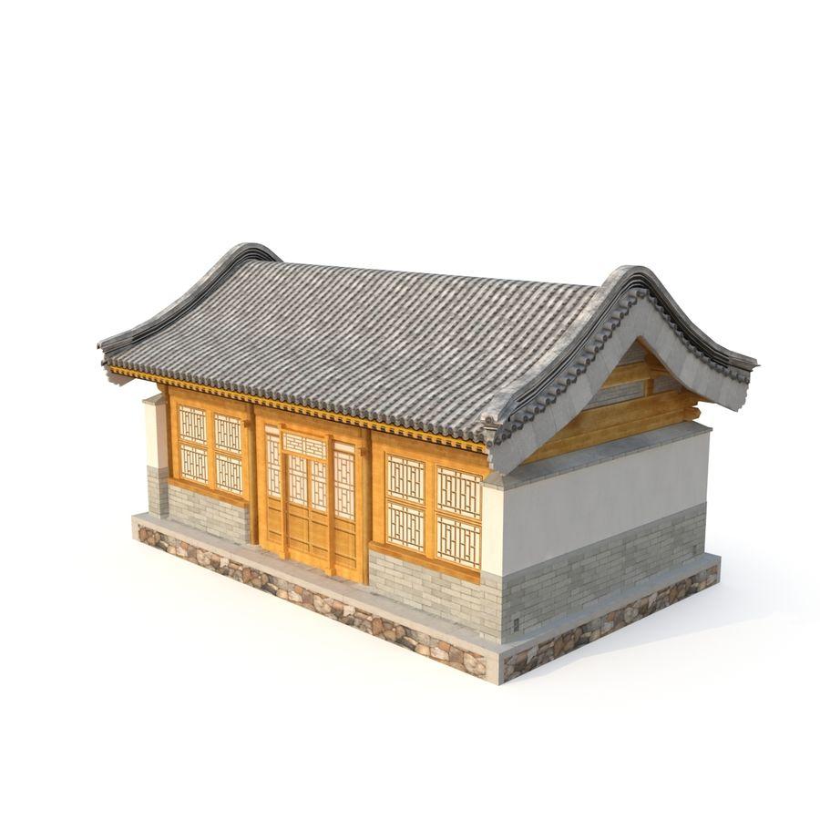 Pokój dystrybucji starożytnej chińskiej architektury 02 royalty-free 3d model - Preview no. 1