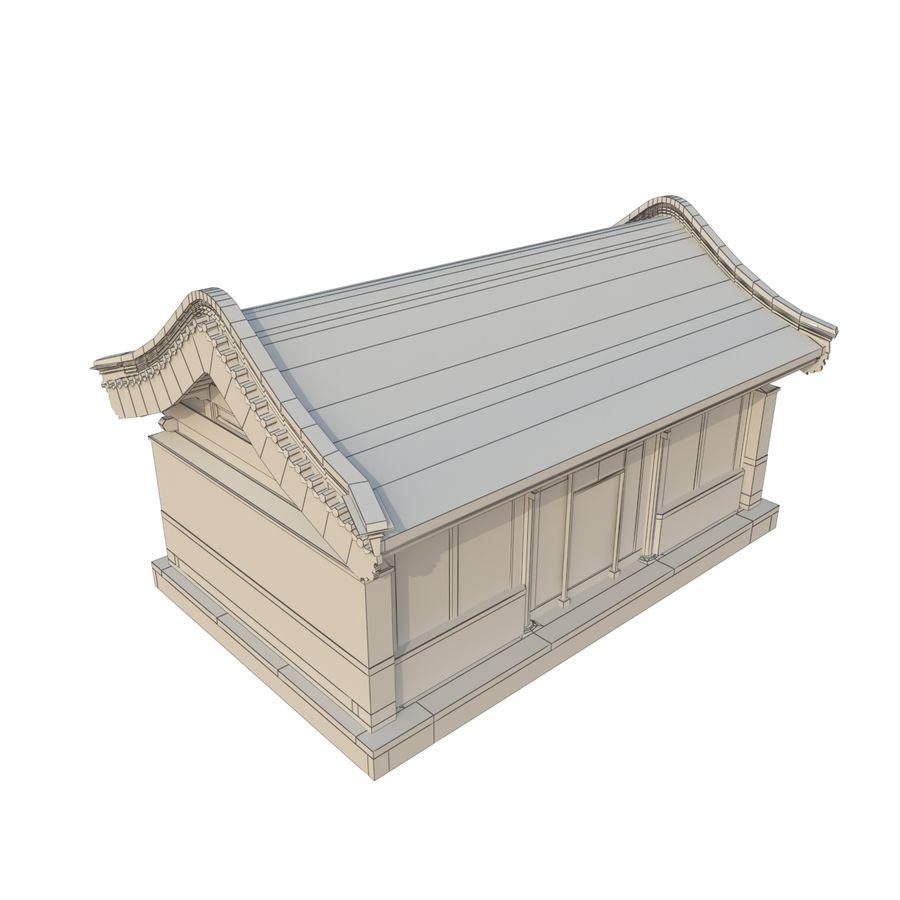 Pokój dystrybucji starożytnej chińskiej architektury 02 royalty-free 3d model - Preview no. 10
