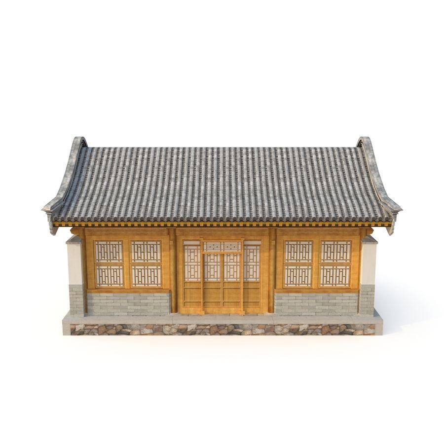 Pokój dystrybucji starożytnej chińskiej architektury 02 royalty-free 3d model - Preview no. 4
