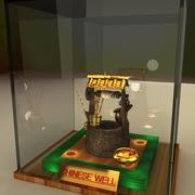 Chinese ancient well 3d model