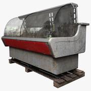 Refrigeration Showcase 3d model