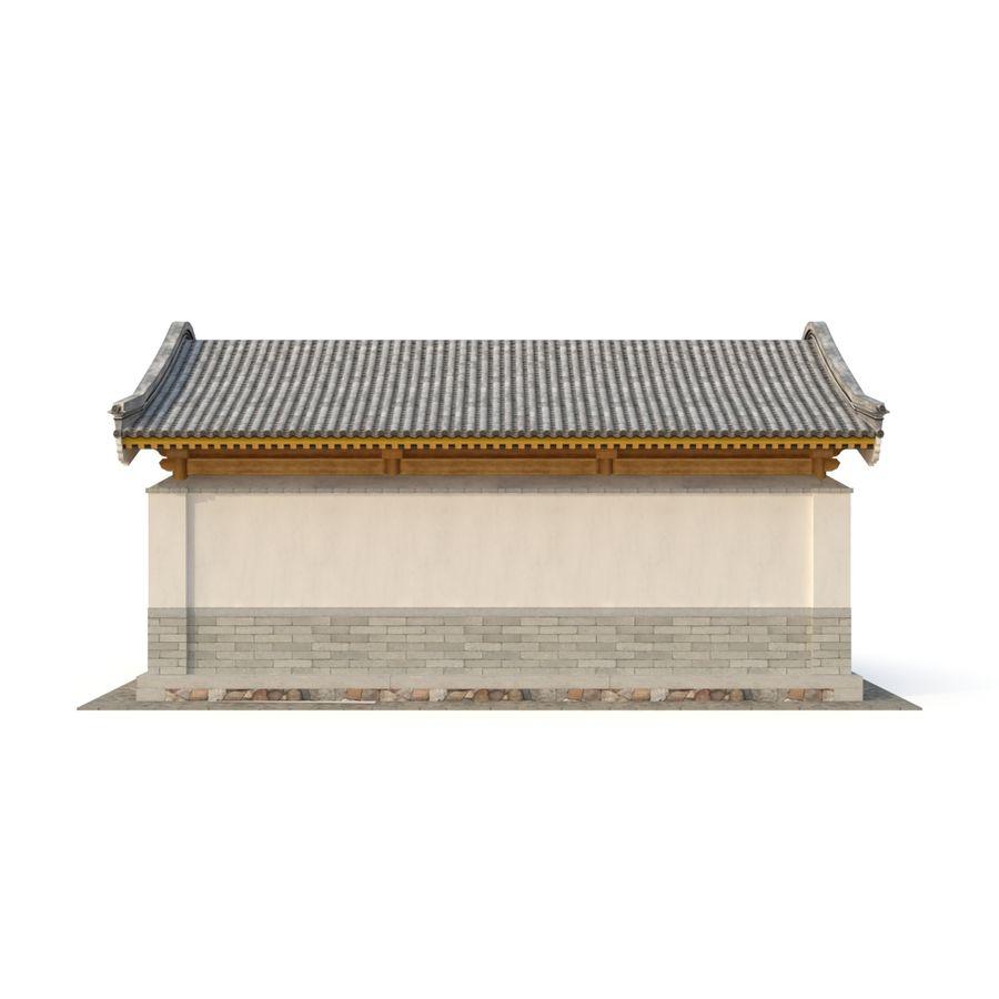 Pokój dystrybucji starożytnej chińskiej architektury 03 royalty-free 3d model - Preview no. 8
