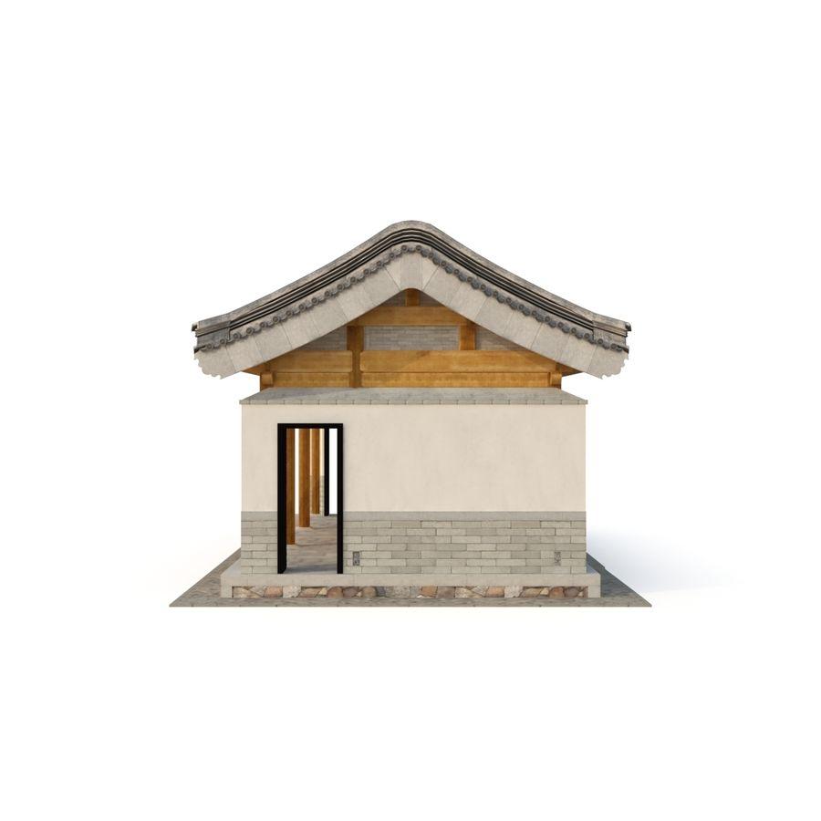 Pokój dystrybucji starożytnej chińskiej architektury 03 royalty-free 3d model - Preview no. 7