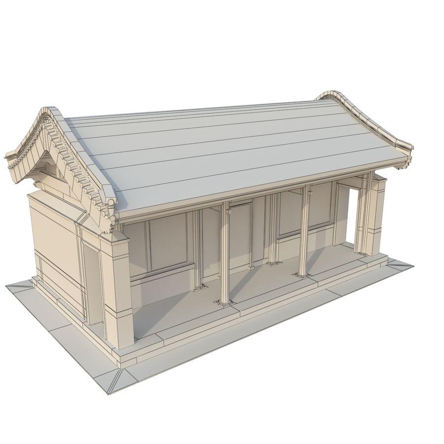 Pokój dystrybucji starożytnej chińskiej architektury 03 royalty-free 3d model - Preview no. 12