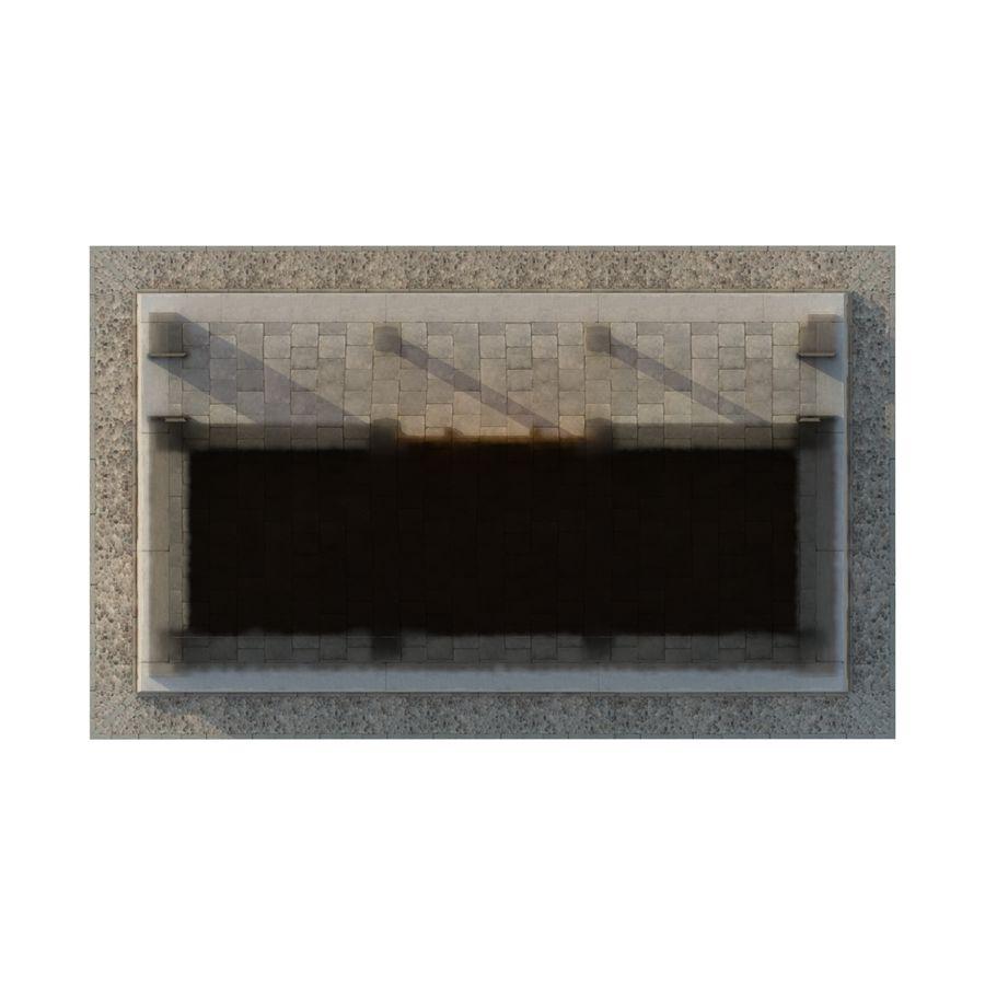 Pokój dystrybucji starożytnej chińskiej architektury 03 royalty-free 3d model - Preview no. 10