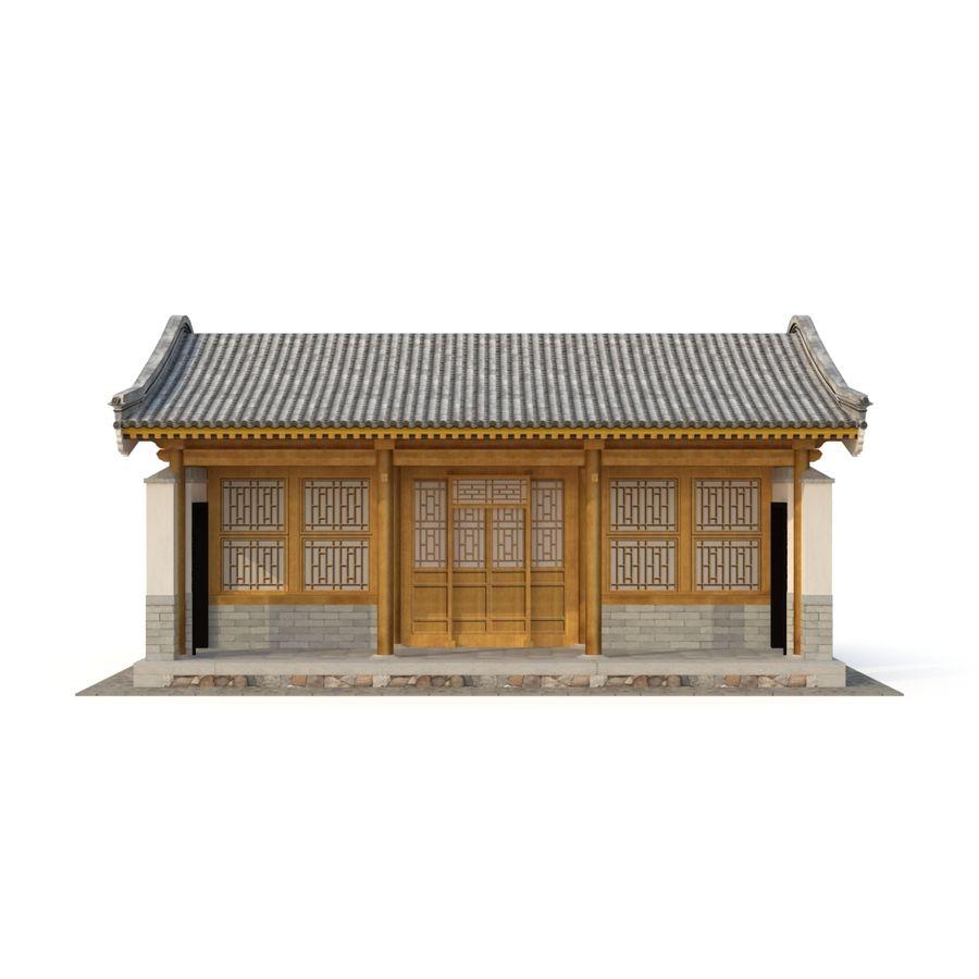 Pokój dystrybucji starożytnej chińskiej architektury 03 royalty-free 3d model - Preview no. 6