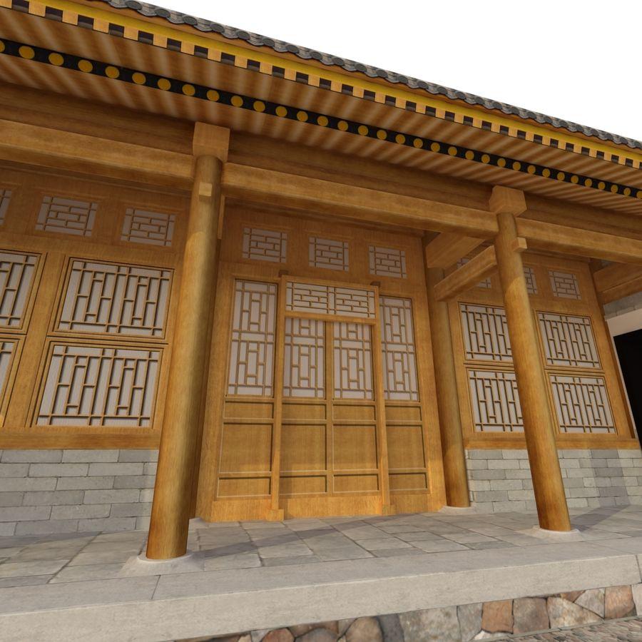 Pokój dystrybucji starożytnej chińskiej architektury 03 royalty-free 3d model - Preview no. 11