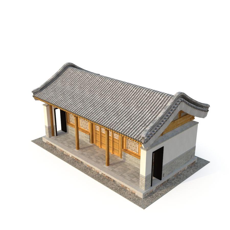 Pokój dystrybucji starożytnej chińskiej architektury 03 royalty-free 3d model - Preview no. 3